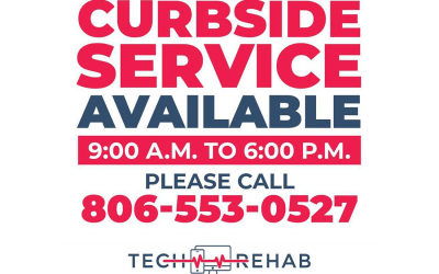Tech Rehab continues to offer Curbside Services