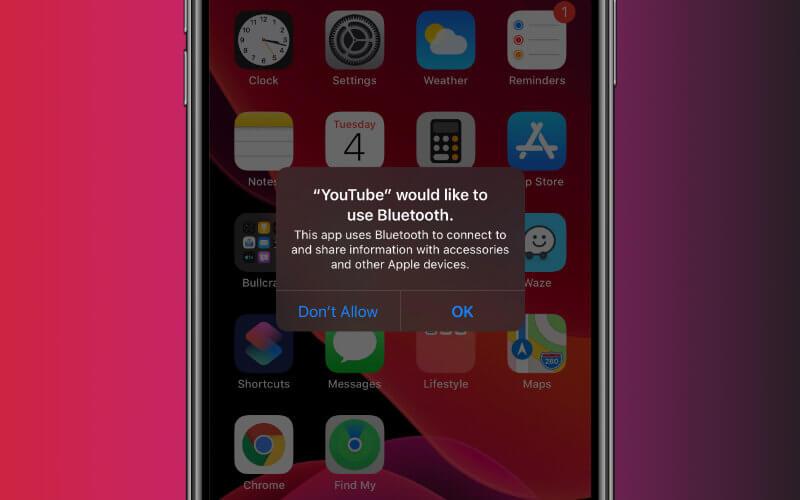 Bluetooth popups after IOS 13 update!!!