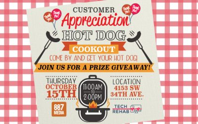 Come one, come all, come by for your FREE hot dog!
